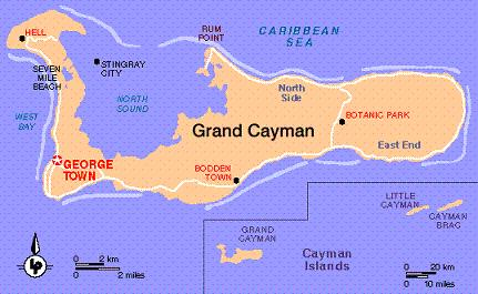 So Where Exactly Is Grand Cayman Blog On Grand Cayman Travel - Cayman islands cities map